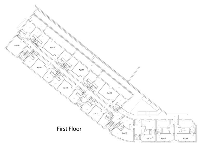 first floor siteplan
