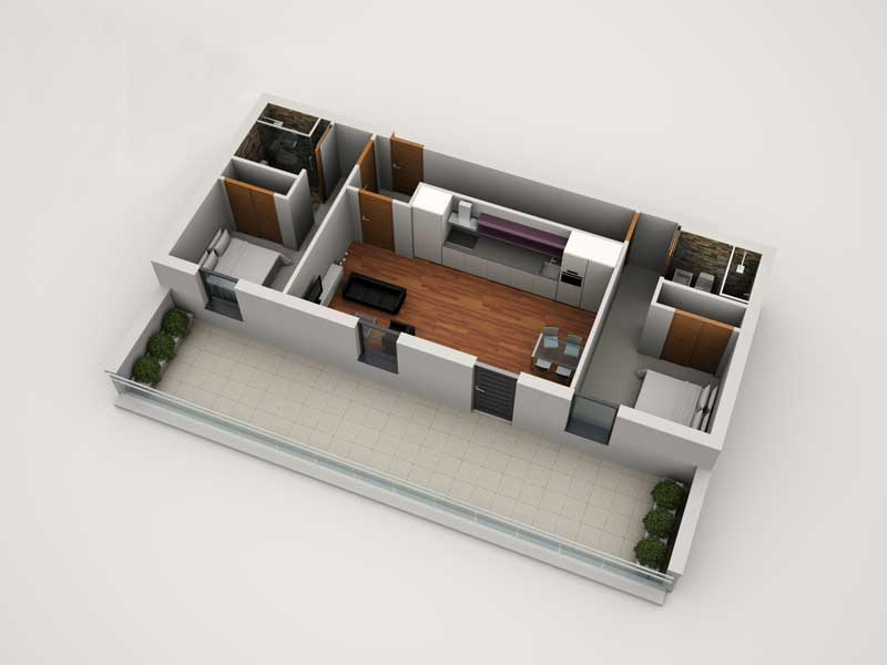 2 Bed Mayfair Apartment