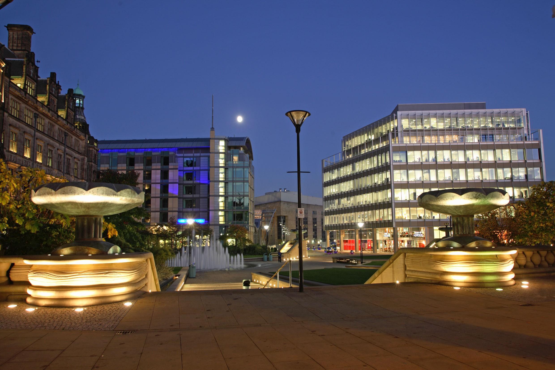 Sheffield Peace Gardens